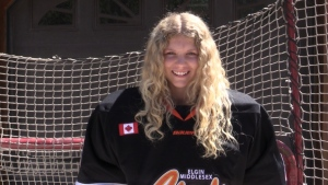 Currie becomes first female drafted in OHL