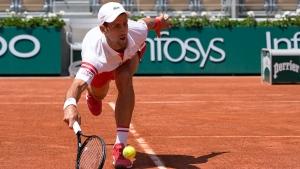 Djokovic rallies back, wins as Musetti retires in fifth set