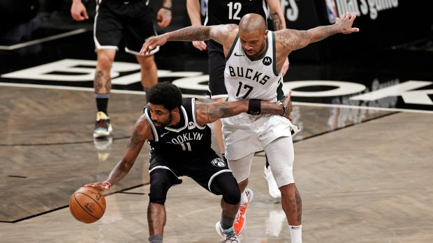 Irving (ankle sprain) to miss second half of Game 4 - TSN