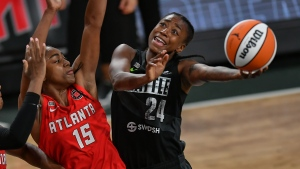 Loyd has late burst to help Storm hold off Dream