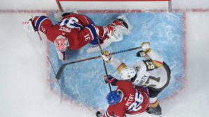 Golden Knights open as massive favourite over Canadiens