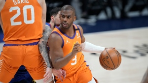 Suns spoil Jokic's MVP party, rout Nuggets to take 3-0 lead