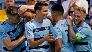 Salloi scores in 71st, Sporting KC ties Austin FC