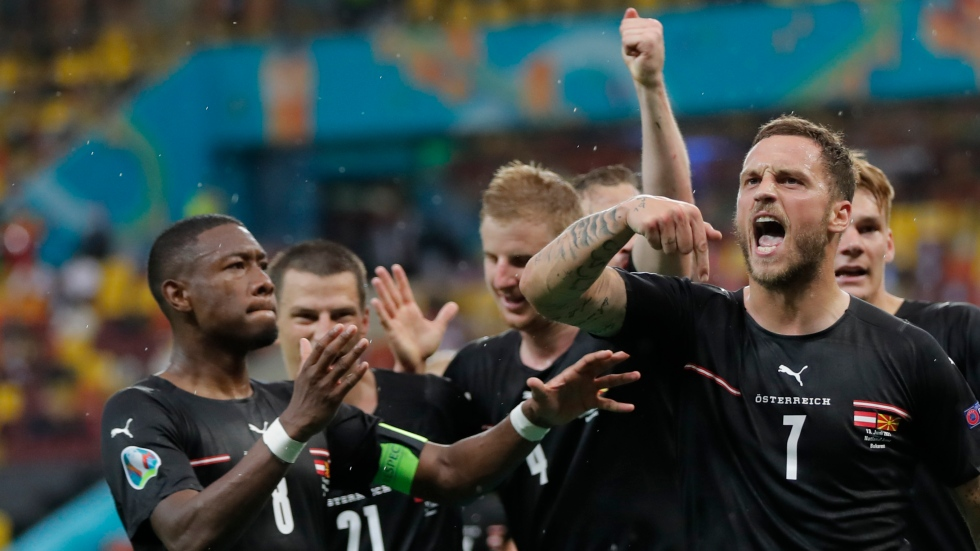 Subs score late to give Austria win over North Macedonia
