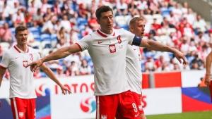 Lewandowski leads Poland against Slovakia at EURO 2020