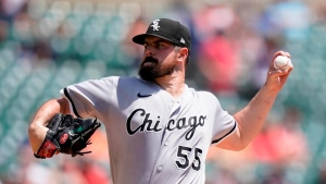 Rodon takes no-hitter into 7th; White Sox sweep Tigers