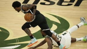 Report: Nets' Irving to miss Game 7 vs. Bucks