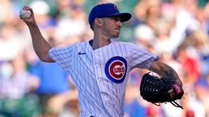 Davies sharp, Cubs beat Cardinals for 3-game sweep
