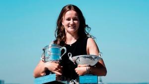French Open champ Krejcikova ranked No.15 in singles, No.1 in doubles