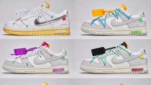 """Nike and Off White share their Dunk Low """"The 50"""" collaboration"""
