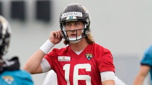 Jaguars QB Lawrence (hamstring) forced out of team drills on first day of minicamp