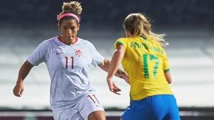 Canadian women play Brazil to scoreless draw in friendly