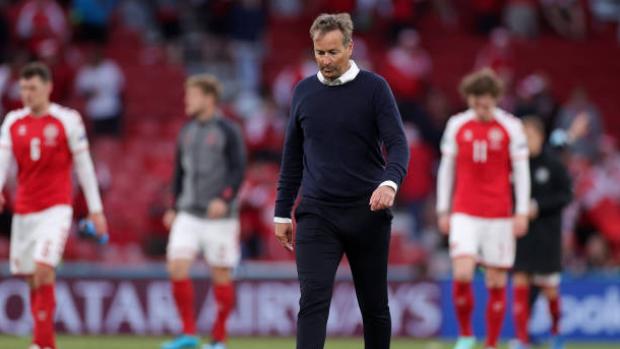 Denmark coach steps up UEFA criticism over game resumption