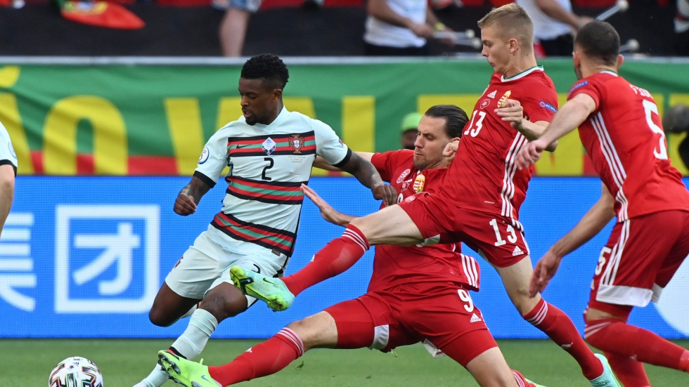 WATCH LIVE: Hungary, Portugal scoreless at EURO 2020