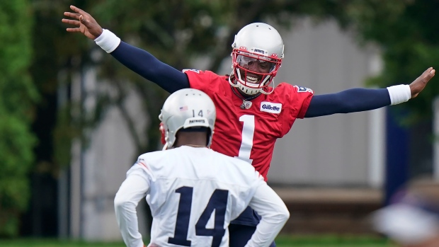 Motivated Newton believes Jones was, 'the right pick' for Patriots