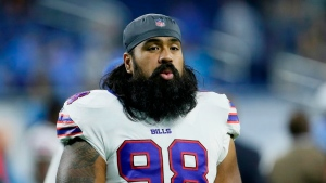 Lotulelei eagerly rejoins Bills after year off from football