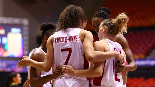 Canadian women's basketball team advances to semifinals at AmeriCup