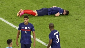 France's Pavard felt KO'd for nearly 15 seconds