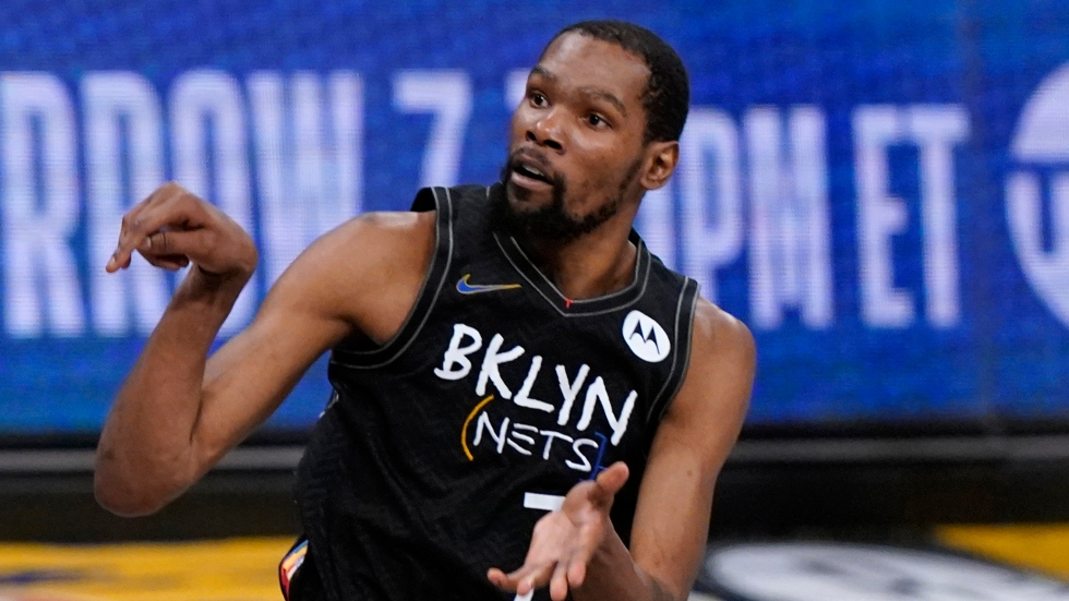Durant jumps to No. 1 as top five revealed in NBArank 2021