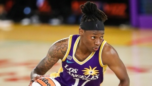 Wheeler's first career double-double leads Sparks by Mercury