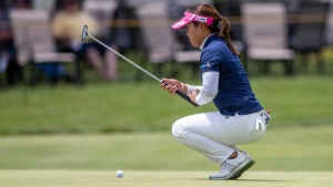 After Open playoff loss, Hataoka shares lead in Michigan