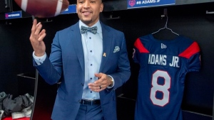 Cauz: Adams Jr. could be MOP in the CFL