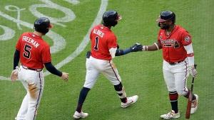 Albies, Contreras take Martínez deep, Braves beat Cards