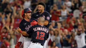 Gomes' single leads Nationals to walk-off win against Mets