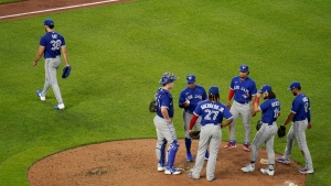 Jays' struggles continue, fall to last-place Orioles for fifth straight loss