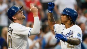 Mondesi 464-foot HR helps Royals beat Red Sox, stop skid