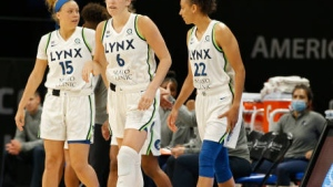 Lynx win sixth straight, beating Aces without a free throw