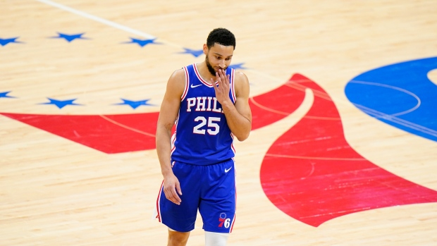 76ers suspend Simmons one game for conduct detrimental to the team