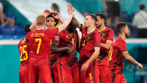 Belgium beats Finland to finish first in Group B