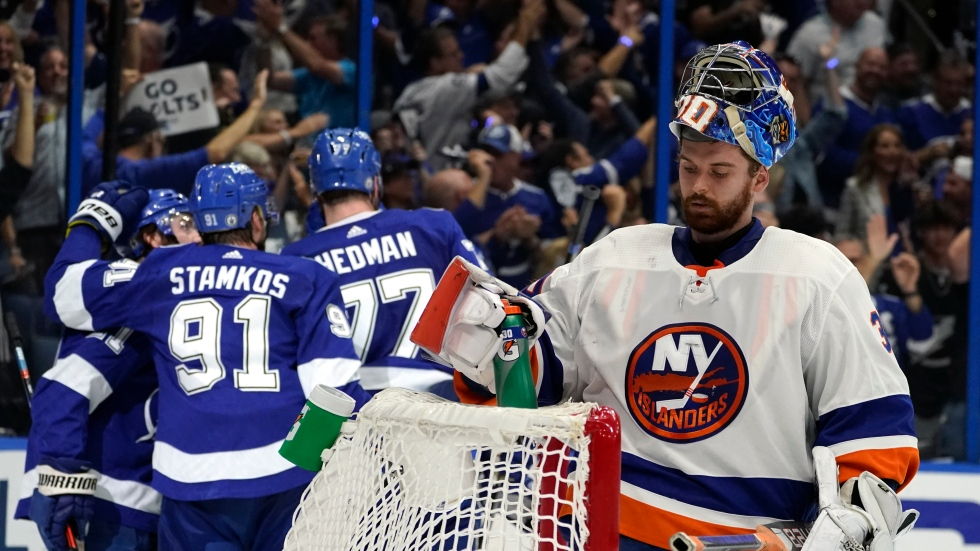 Lightning demolish Islanders in Game 5 to pull one win away from Stanley Cup Final