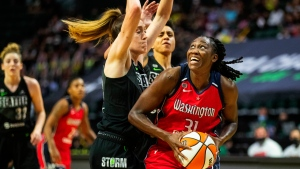 WNBA scoring leader Charles expected to miss 3-to-5 games with left glute strain
