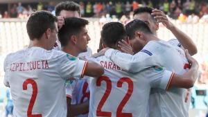 Spain outlasts Croatia in instant Euro classic