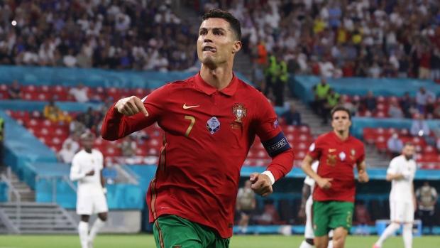 Portugal's Ronaldo wins Golden Boot at EURO 2020