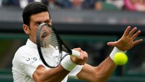 Djokovic advances, Tsitsipas stunned as Wimbledon returns