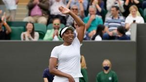 Venus, 41, rises to 90th Wimbledon win in 90th career major