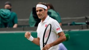 Federer beats familiar foil Gasquet at Wimbledon