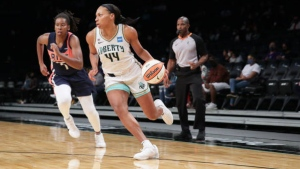 Liberty rally from 18 down to beat Charles and Mystics