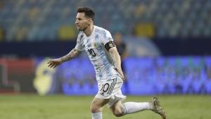 Argentina beats Ecuador at Copa, plays Colombia in semifinal