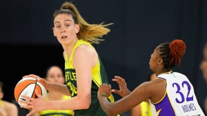 Bird reaches No. 6 on WNBA career scoring list, Storm beat Sparks