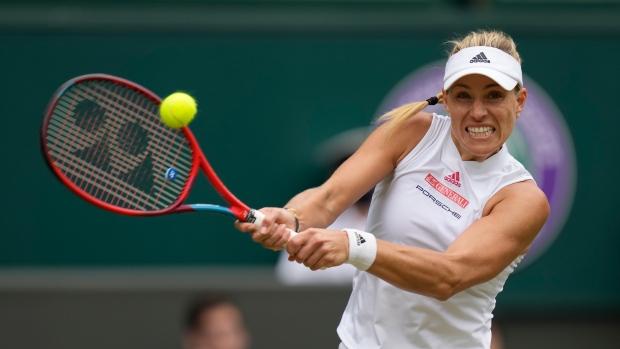 Kerber headed back to Wimbledon semifinals