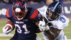 Alouettes sweep of top performer awards for Week 12