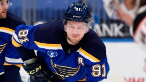 Blues' Tarasenko: 'I don't want to be a distraction'