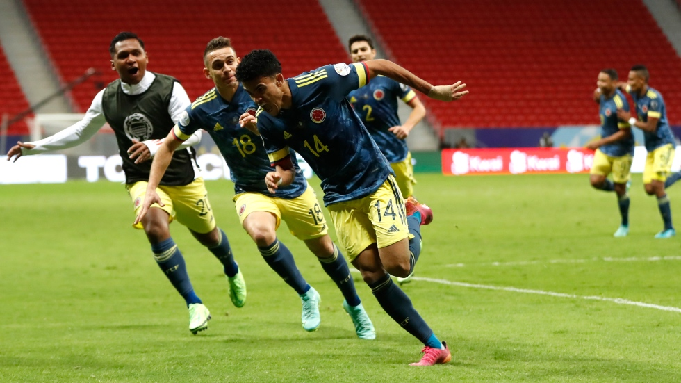 Two goals by Diaz gives Colombia third place at Copa America
