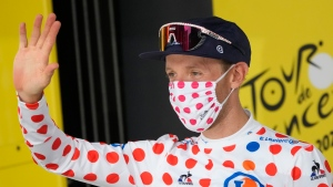Canadian Woods earns King of the Mountain at Tour de France