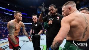 McGregor calls Poirier win 'illegitimate'