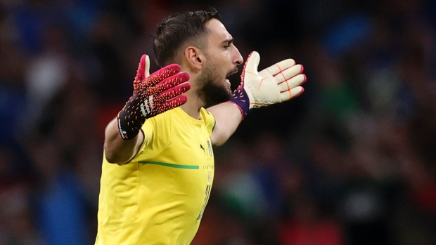 Italy GK Donnarumma named player of the tournament at EURO 2020
